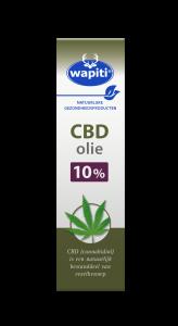 CBD Olie 10% 10 ml Wapiti