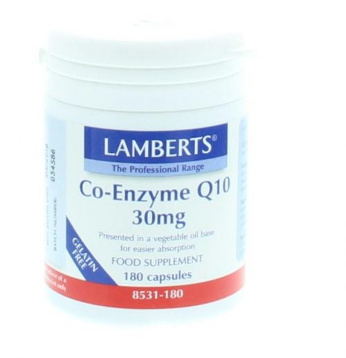 Co enzym Q10 30 mg 180 vegi-caps Lamberts
