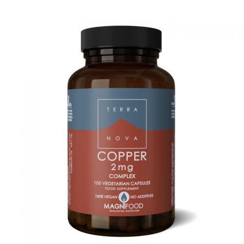 Copper complex 100 capsules Terranova