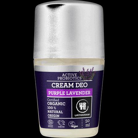 Deodorant creme lavendel 50 ml Urtekram