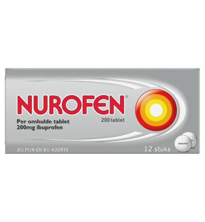 Ibuprofen 200 mg 12tb Nurofen