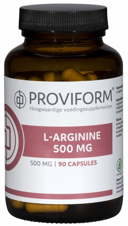L-Arginine 500 mg 90 capsules Proviform