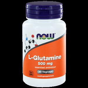 L-Glutamine 500 mg 60 capsules NOW