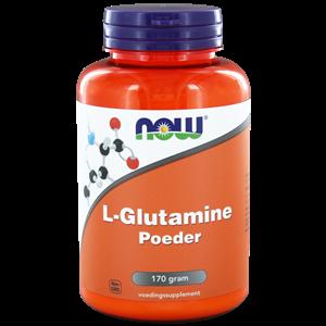 L-Glutamine poeder 170 gram NOW