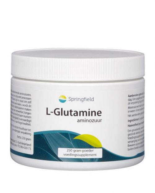 L-Glutamine poeder 250 gram Springfield