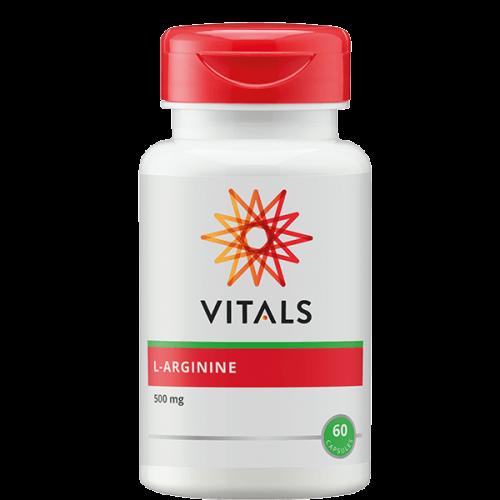 L-arginine 500 mg 60 vegicapsules Vitals