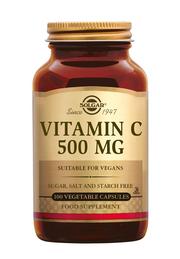 Vitamine C 500mg 100 vegicapsules Solgar
