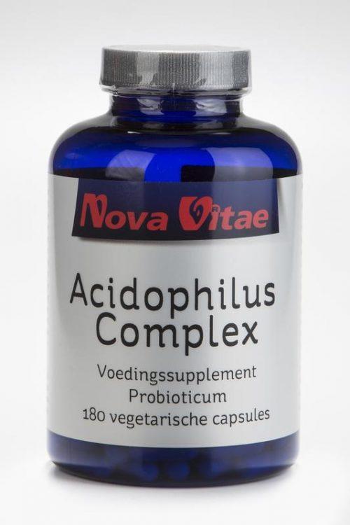 Acidophilus complex 180 capsules Nova Vitae