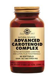 Advanced carotenoid complex 60 softgels Solgar