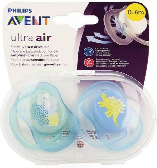 Avent fopspeen Ultra Air 0-6mnd 2 stuks