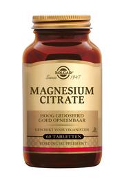 Magnesium Citrate 120 tabletten Solgar