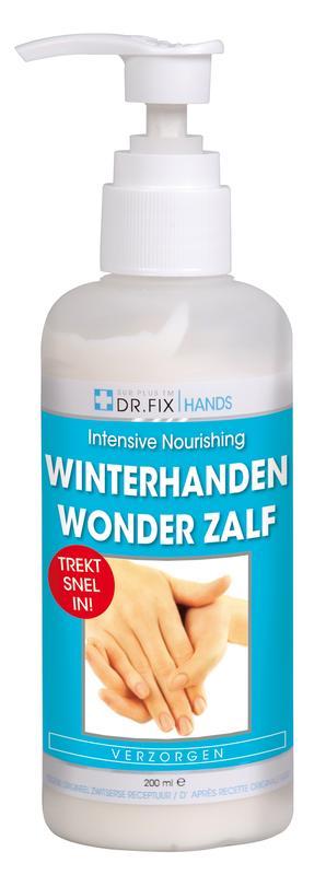 Winterhanden wonder zalf met aloe vera 200ml Dr Fix