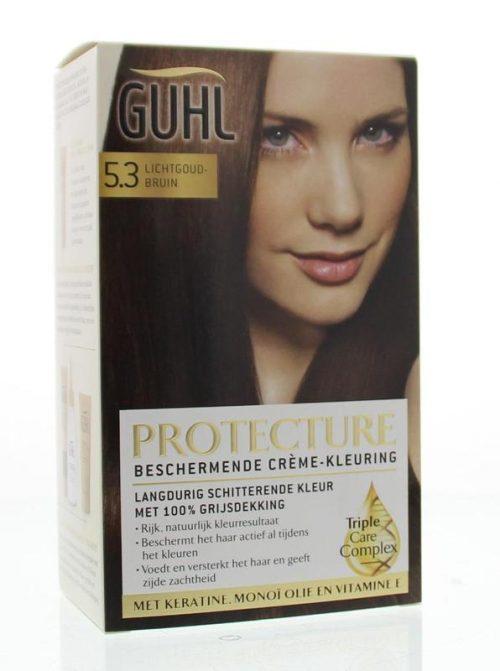 Beschermende cremekleur 5.3 lichtgoud br 1 set Guhl