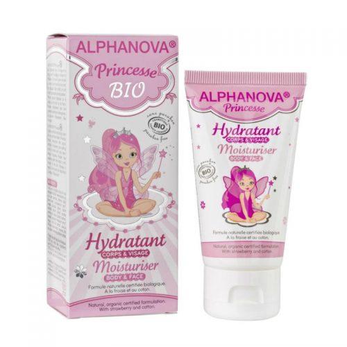 Bio moisturizing creme princess 50 ml Alphanova Kids