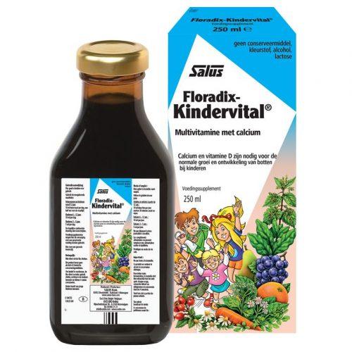 Floradix Kindervital Fruity 250 ml Salus