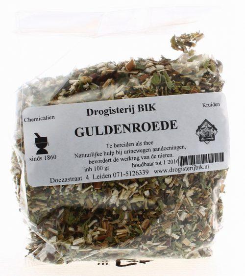 Guldenroede / Solidago 100 gram etiket 14
