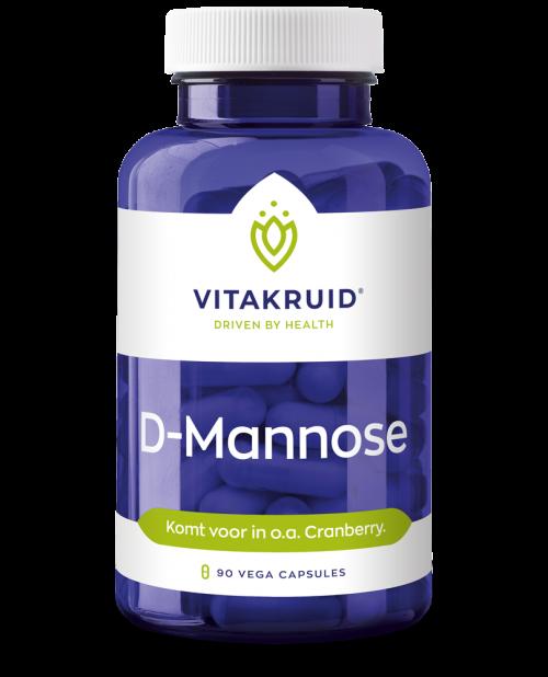 D-Mannose 500 90 capsules Vitakruid