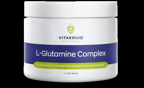 L-Glutamine Complex poeder 230 gram Vitakruid