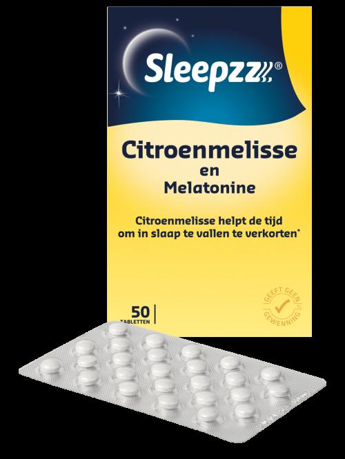Melatonine citroenmelisse 0,299 mg 50 tabletten Sleepzz