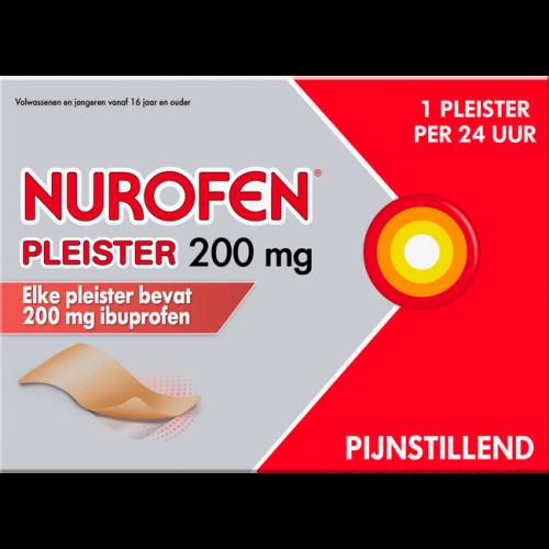 Pleister 200 mg 4 stuks Nurofen