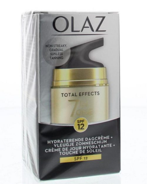 Total effects 7 in 1 dagcreme touch of sunlight 50ml Olaz