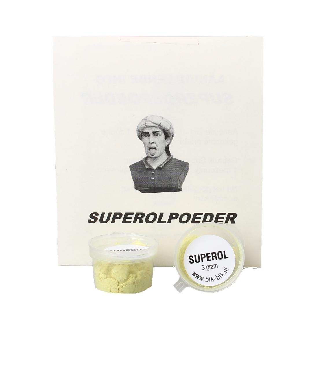Superol gorgelpoeder® potje 3gr