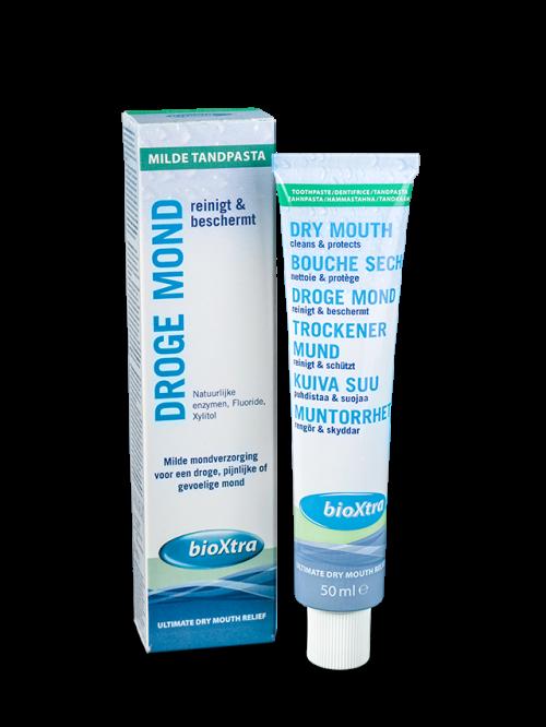 Tandpasta ultra mild voor droge mond 50 ml Bioxtra