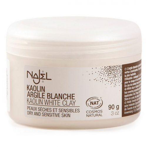 Aleppo gezichtsmasker witte klei 90 gram Najel