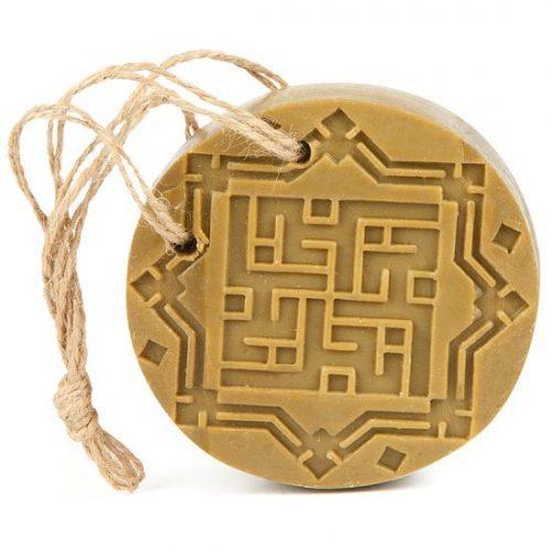 Aleppo zeep amber oud aroma aan koord 150 gram Najel