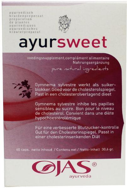 Ayursweet 62 capsules Ojas