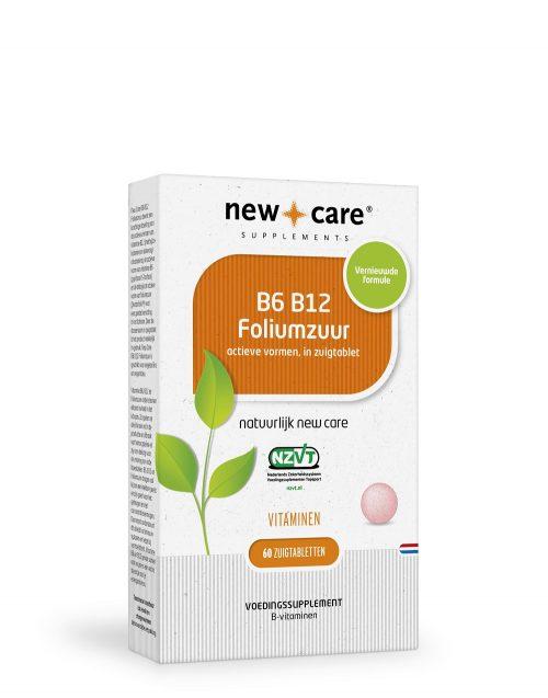 B6 B12 Foliumzuur 60 zuigtabletten New Care (NEW)