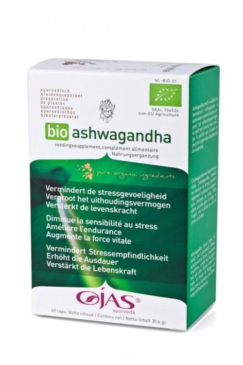 Bio aswagandha 60 capsules Ojas