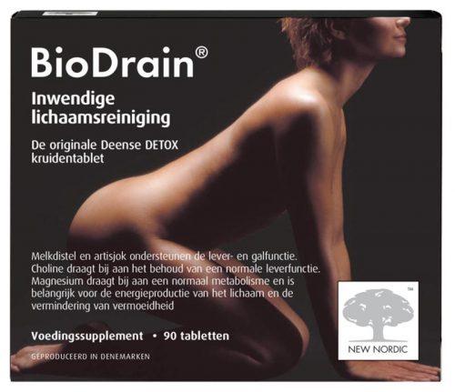 Bio drain 90 tabletten New Nordic