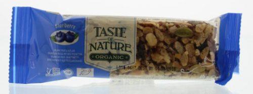 Blueberry granenreep 40 gram Taste Of Nature