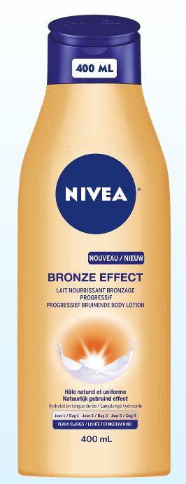 Body lotion bronze lichte huid 400 ml Nivea