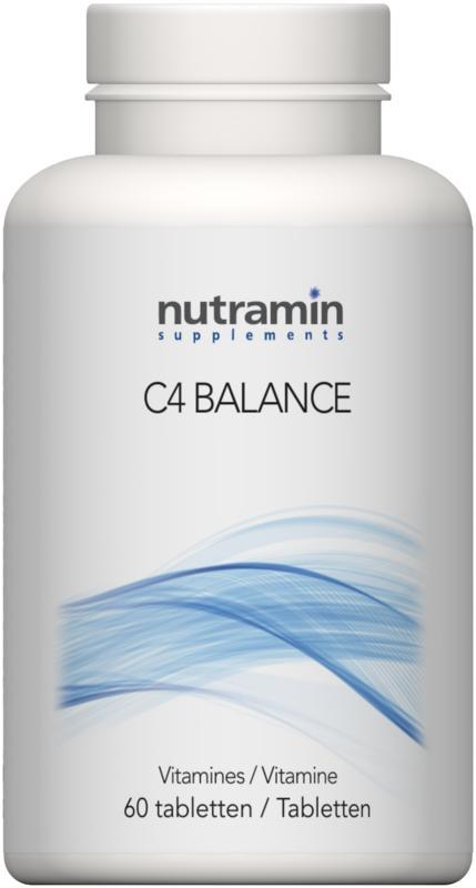 C4 balance 60 tabletten Nutramin
