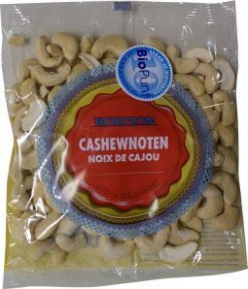 Cashewnoten heel eko 150 gram Horizon