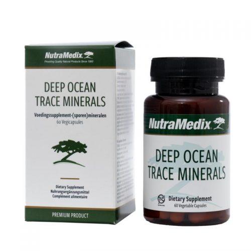 Deep ocean trace minerals 60 vegi capsules Nutramedix