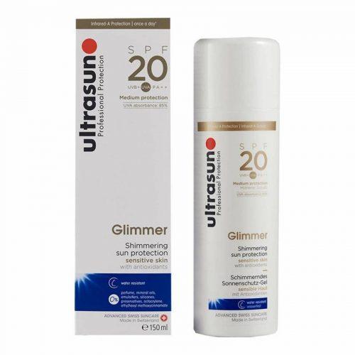 Glimmer creme SPF20 150 ml Ultrasun