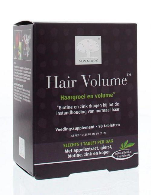 Hair volume 90 tabletten New Nordic