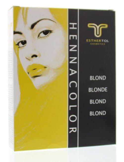 Henna poeder 85 gr Blond Tol Cosmetik