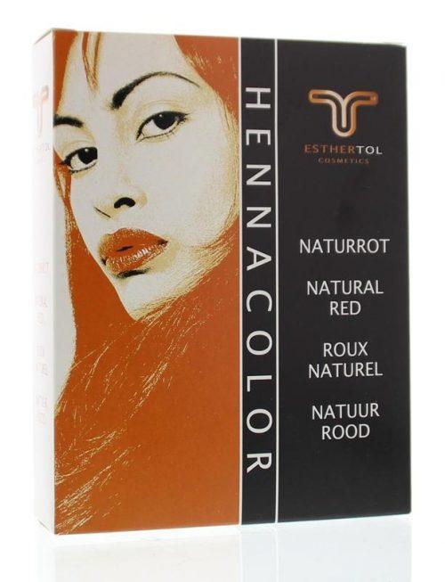 Henna poeder 85 gr Natuurlijk rood Tol Cosmetik
