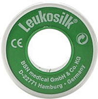 Leukosilk 1,25 cm x 5m ref.1021 ringspoel