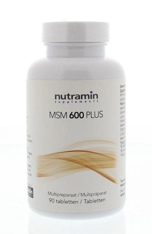 MSM 600 plus 90 tabletten Nutramin