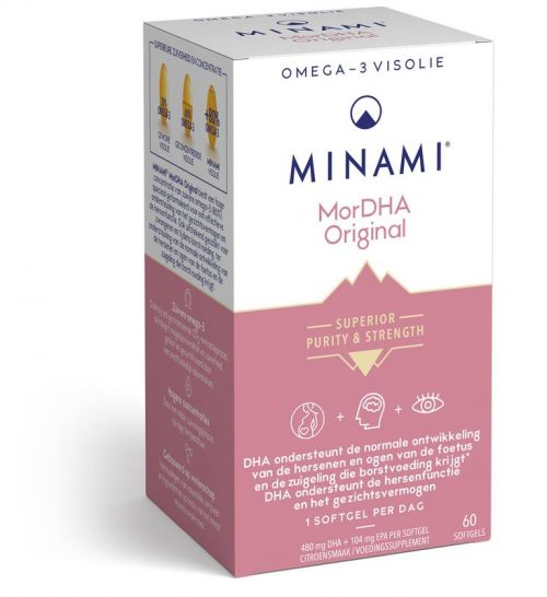 Mor DHA Original 60 capsules Minami