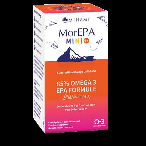 Mor EPA mini smart fats 60 capsules Minami