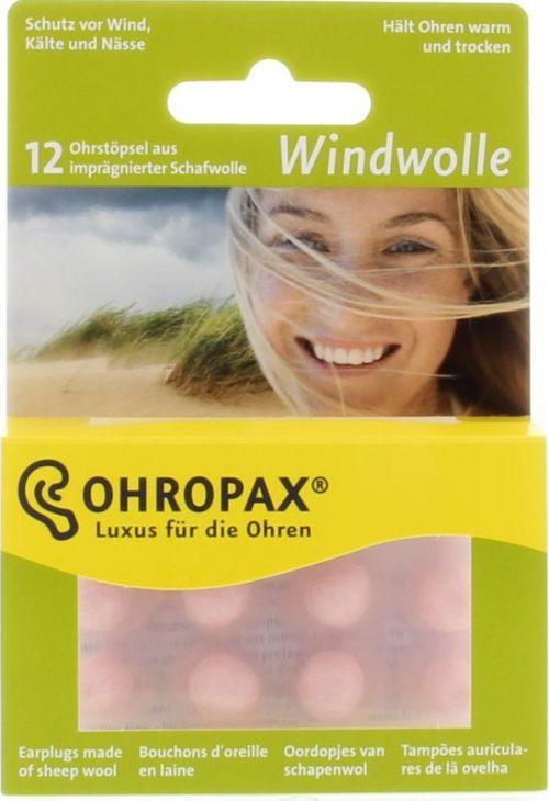 Ohropax klima-wolle badewolle 12 stuks