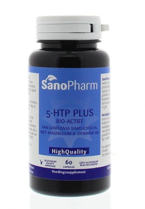 5-htp plus 60 capsules Sanopharm