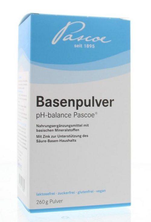 Basenpulver 260 gram Pascoe
