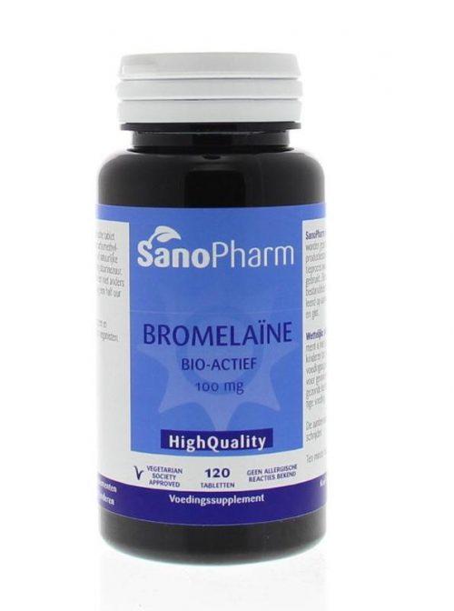 Bromelaine 100 mg 120 tabletten Sanopharm